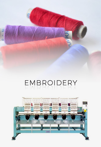 Embroidery Process