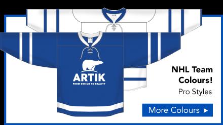 Hockey NHL Team Colours Jerseys
