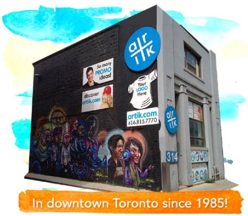 Welcome to our Downtown Toronto Artik location!
