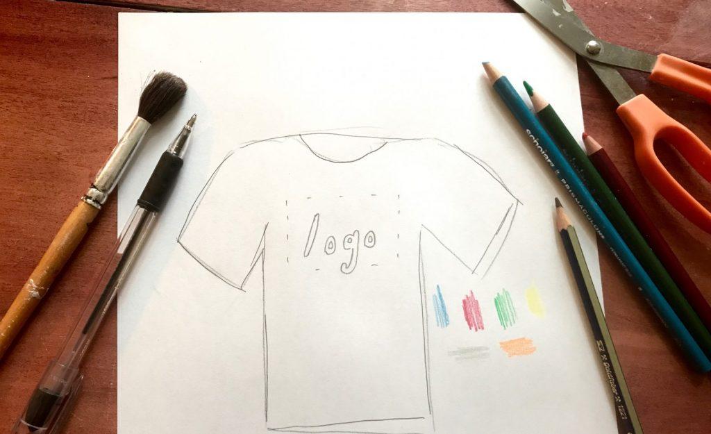 Custom t-shirt design from scratch