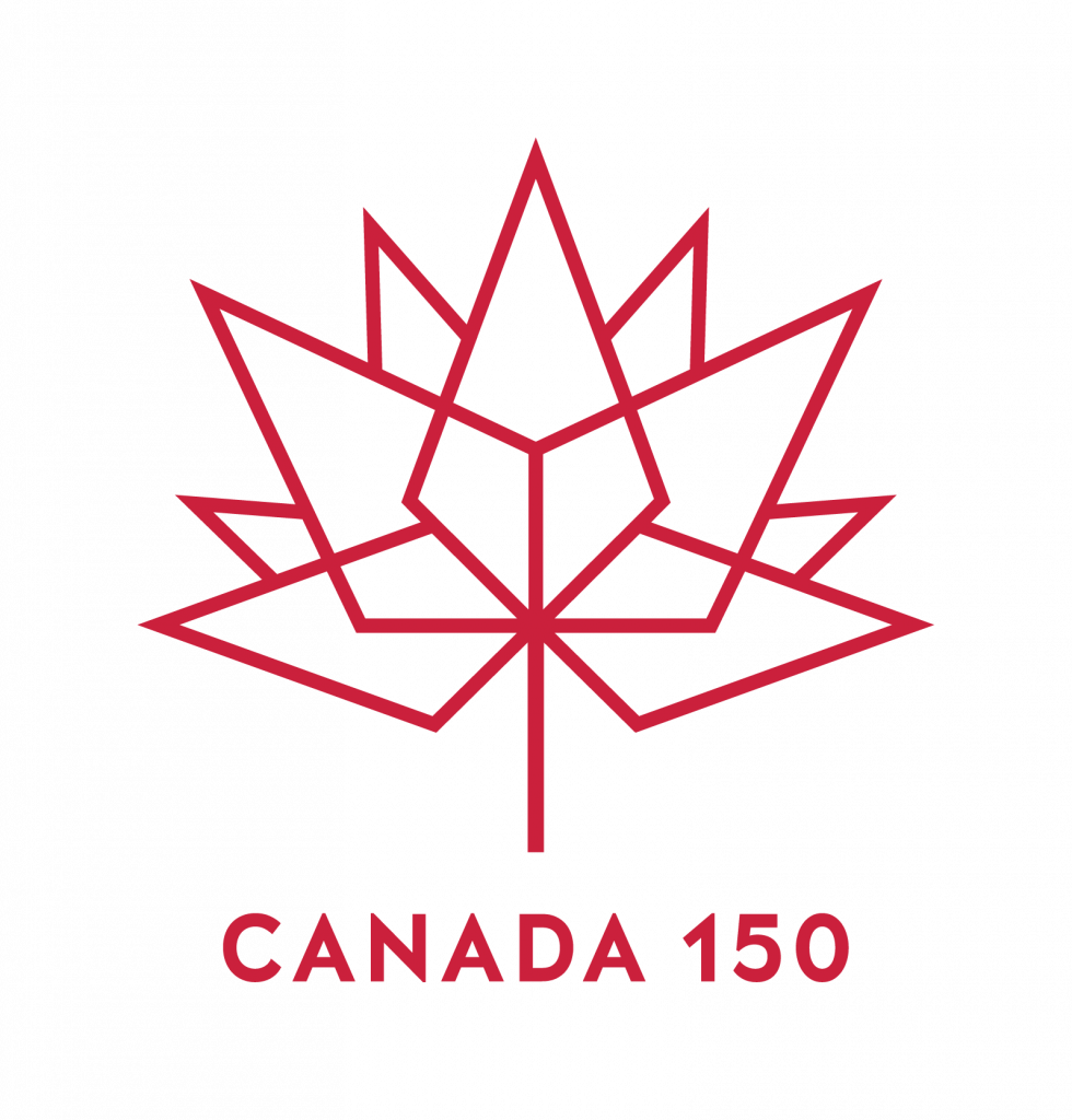 Canada 150 Logo on Printed T-Shirts and Promo Products