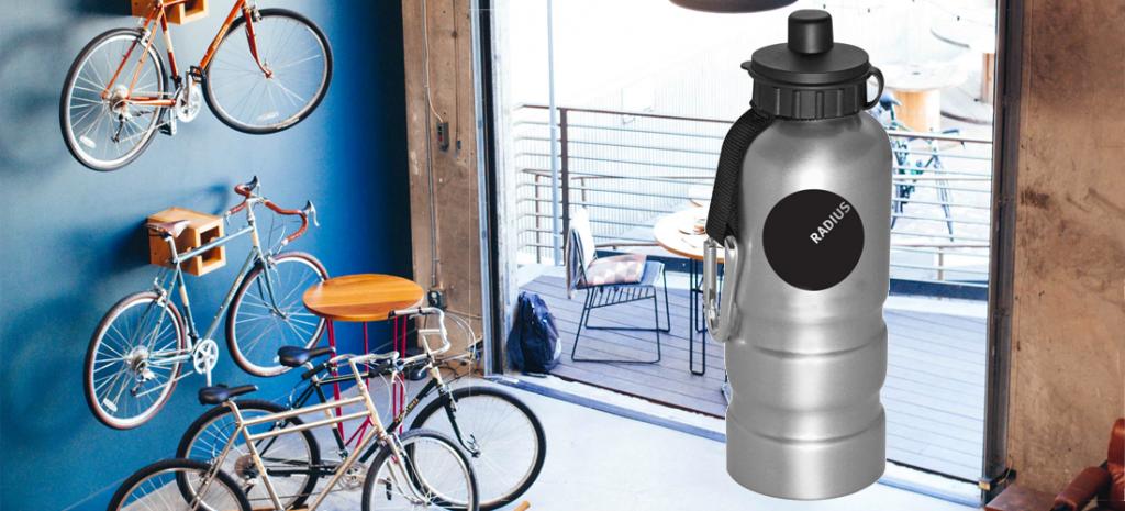 Custom printed aluminum water bottles