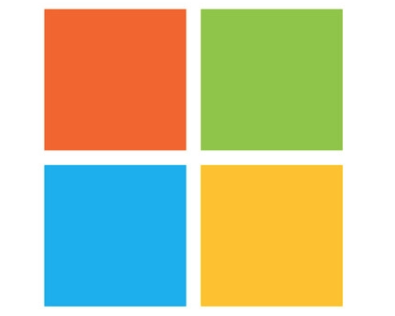 Microsoft logo for uniform design