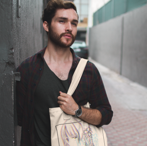 Custom screen printed tote bags are perfect for small businesses and galleries looking to raise money and build brand awareness