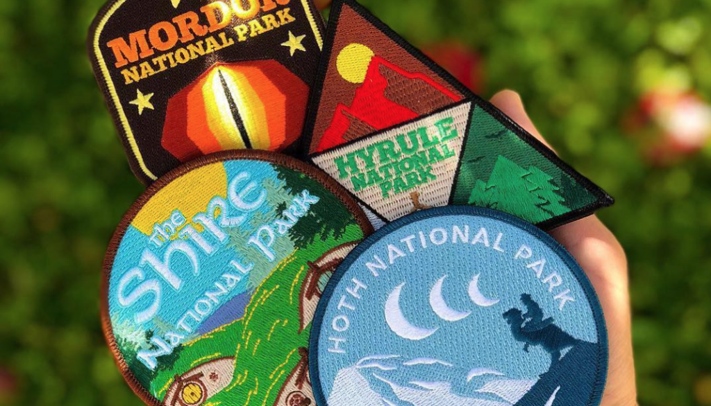 Order embroidered patches from downtown Toronto, Hyrule, The Shire, Mordor and even Hoth!