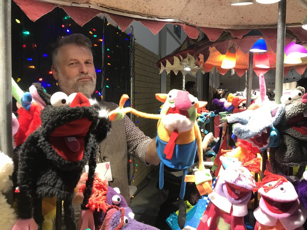 Puppets at the Toronto One of a Kind Show