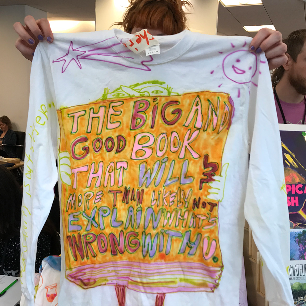 Check out the long sleeve custom t-shirts made for TCAF 2019!