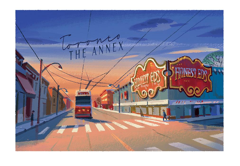 Toronto postcard by Angela Pan