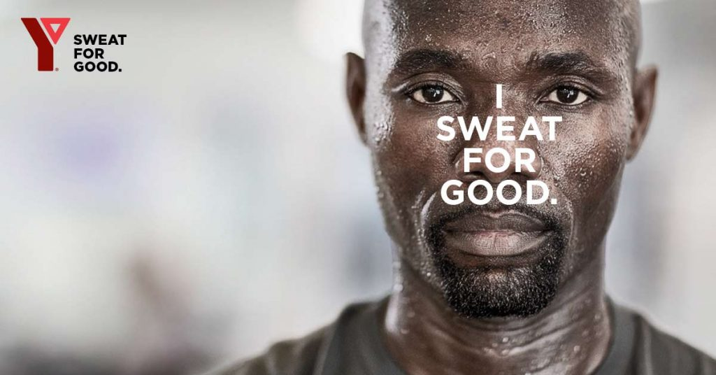 I Sweat For Good Ad Campaign Toronto YMCA