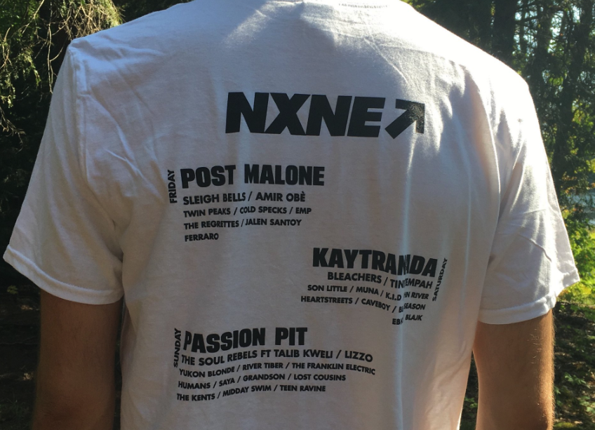 North By Northeast Shirt shows the classic music festival back