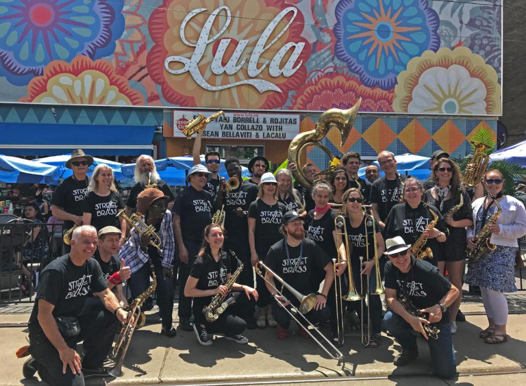 Street Brass Jazz Band at Dundas West Festival