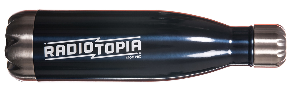 Radiotioia customized water bottle