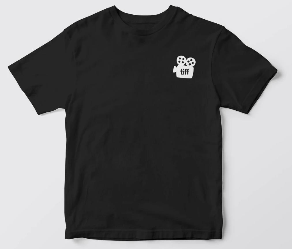 Custom printed t-shirt for the Toronto International Film Festival