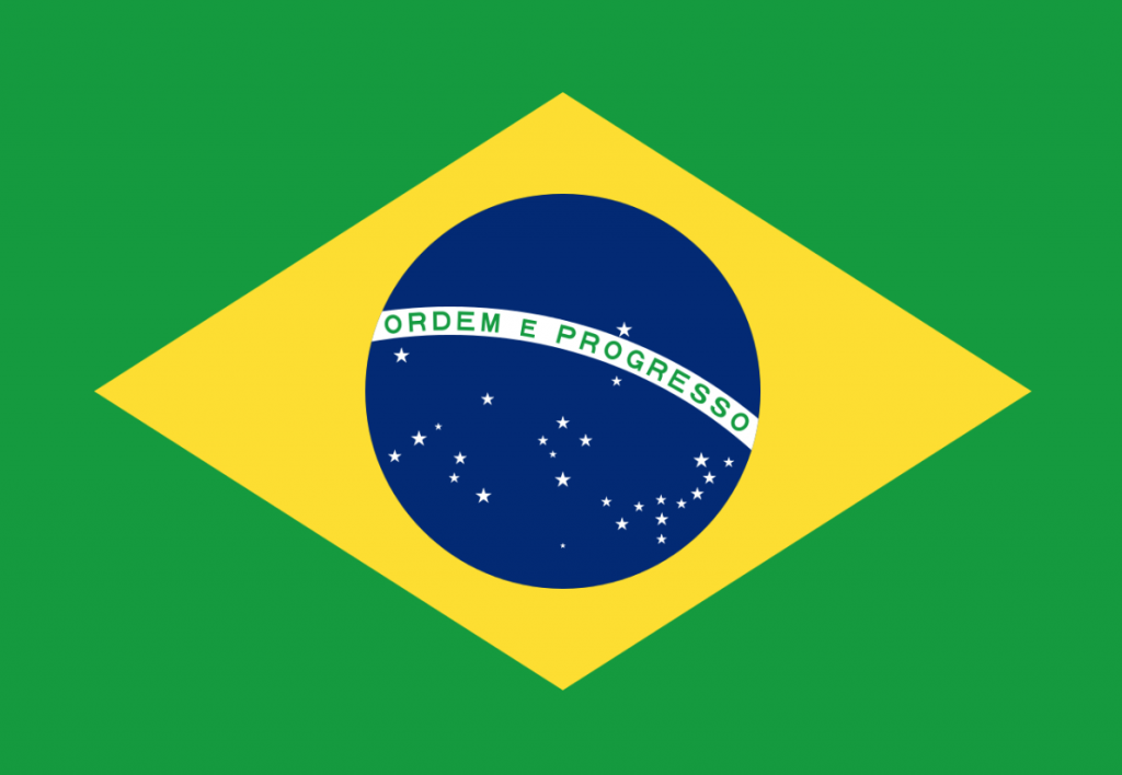 Brazilian flag was used to design the soccer uniforms