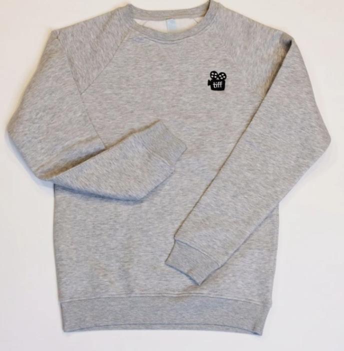 Custom embroidered sweatshirt for TIFF Toronto
