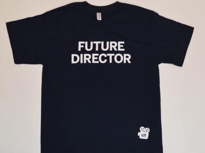 Custom screen printed Director Tee