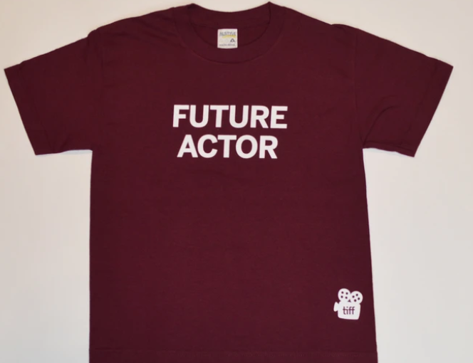 Future Actor branded t-shirt