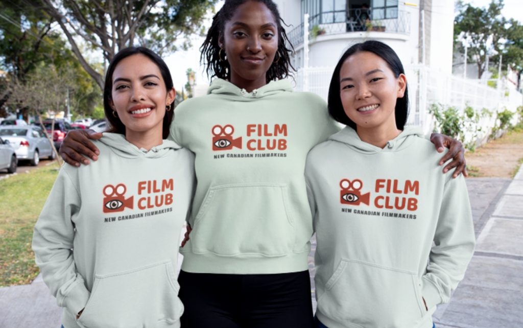 Film Club custom printed hoodies Toronto